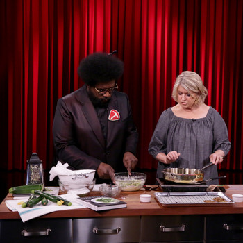 Martha Stewart and Questlove on Jimmy Fallon, 2016
