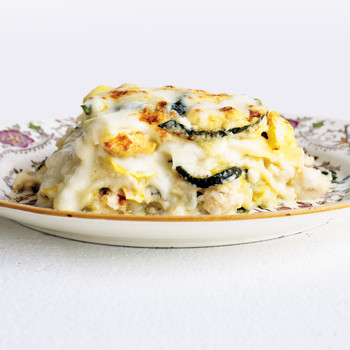 Rich Chicken and Squash Lasagna