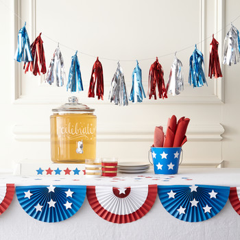 Stars and Stripes Bunting Craft
