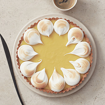 meyer lemon hazelnut tart