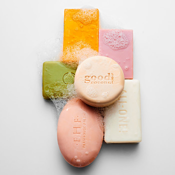 natural bars of soap