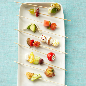 no cook appetizer skewers