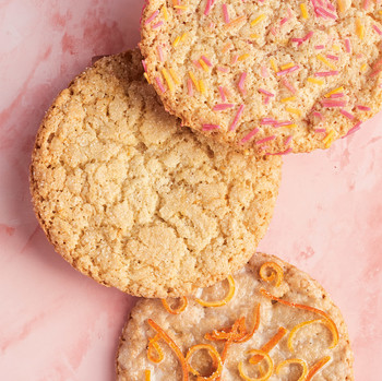 Perfect Sugar Cookies assortment of three