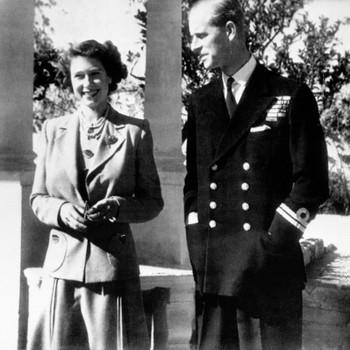 Queen Elizabeth and Duke of Edinburgh