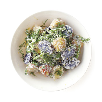 Potato Salad with Green Beans and Ricotta