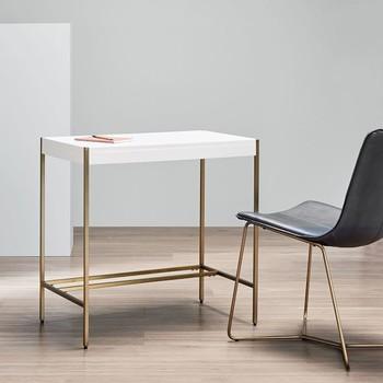 "West Elm ""Zane"" Mini Desk in White"