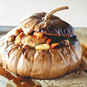 Stuffed Pumpkin Stew