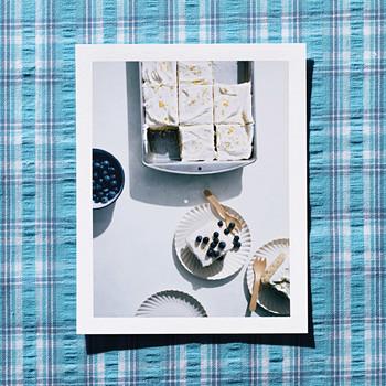 Vanilla Sheet Cake with Lemon Cream-Cheese Frosting