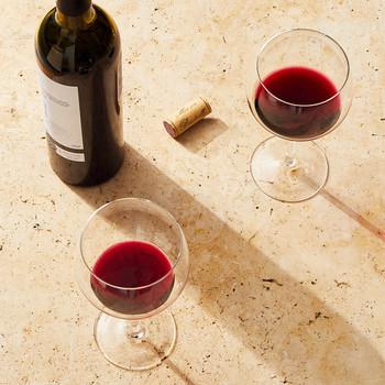 wine tasting table glasses