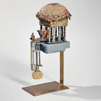 """bird"" sewing machine by Charles Waterman"