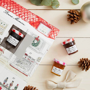 Bonne Maman jam and honey advent calendar
