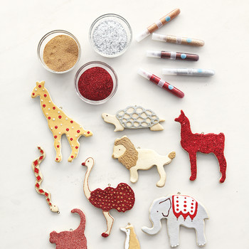 Salt-Dough Ornaments
