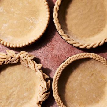 decorative pate brisee pie crusts