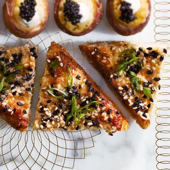 Japanese Shrimp Toasts recipe