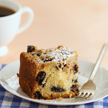 Watch: Classic Blueberry Crumb Cake