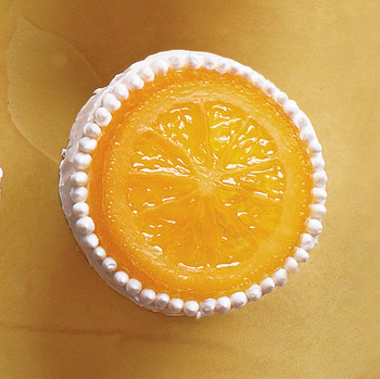 Orange-Vanilla Bean Cupcakes