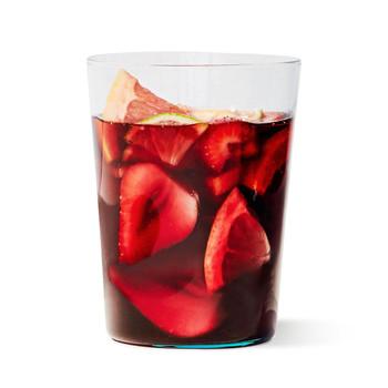 红桑格利亚汽酒玻璃喝水果