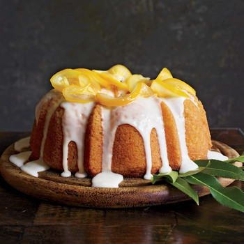 Meyer Lemon-Yogurt Cake