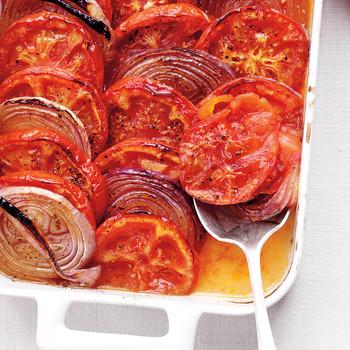 Tomato-Onion Casserole