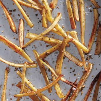 Parsnip-Pumpkin Seed Fries