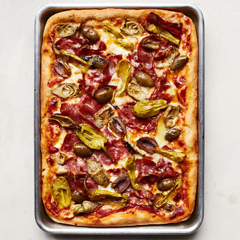 Antipasto-Platter Pizza