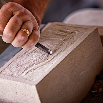 wood carving berea festival