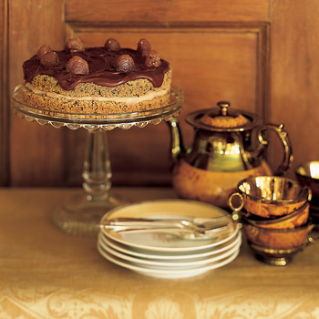 Chestnut Chocolate Layer Cake