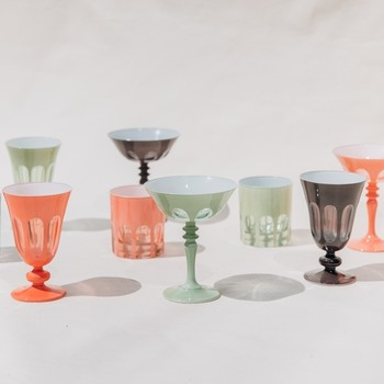 various styled colored glasses