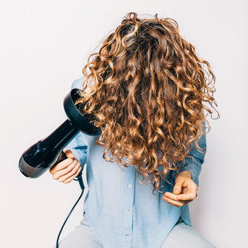curly hair blow dryer