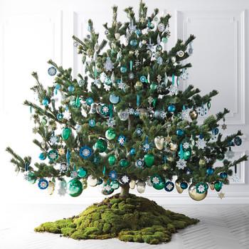 Star Ribbon Hanger for Christmas Ornaments