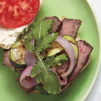 Quick Grilled Steak Sandwiches