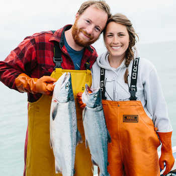 We're On Board with These Two Fishermen -- Salmon Fishing Season Starts Today