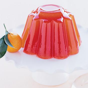 Orange-Campari Gelatin