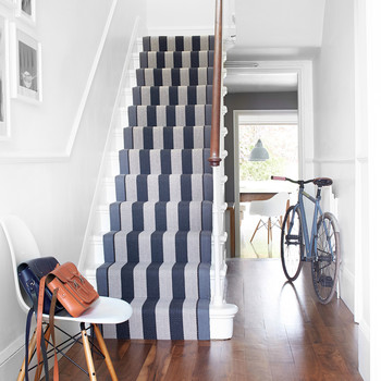 Here's How to Upgrade Your Staircase with a Stair Runner