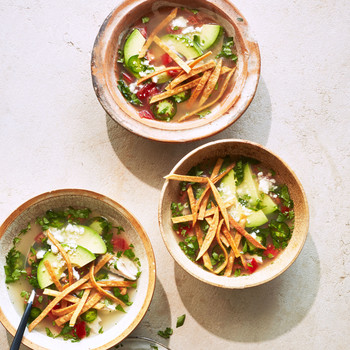 Spicy Chicken-and-Lime Soup