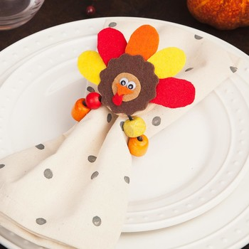 Thanksgiving Craft for Kids: These Adorable Turkey Napkin Rings Just Might Upstage the Real Thing
