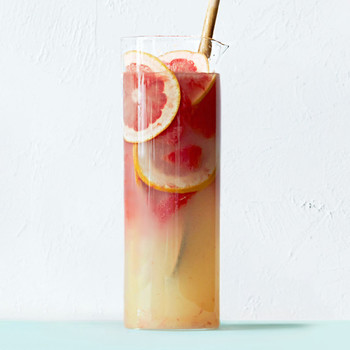 vermouth-grapefruit sangria