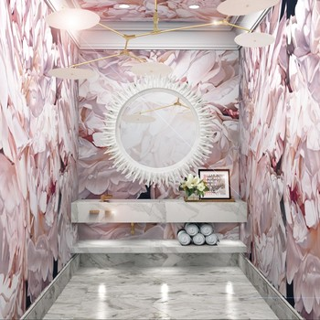 How to Design a Bright and Fun Powder Room