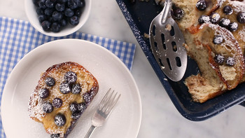 Baked French Toast with Blueberries EDFSC