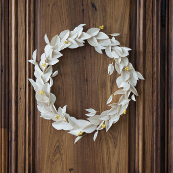 canvas wreath diy