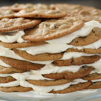 Chocolate Chip Cookie Icebox Cake Video