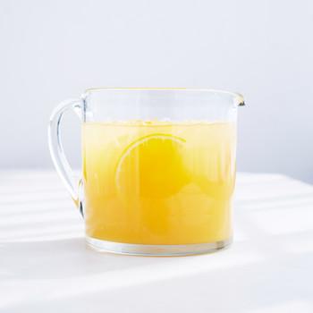 Jasmine Tea and Orange Juice