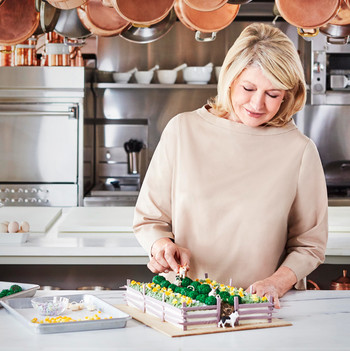 The Making of Martha's Magnificent Bedford Easter Cake