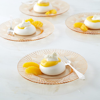 Orange Curd-Filled Pavlovas