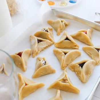 purim hamantaschen baking party