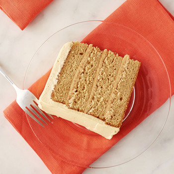 Southern Caramel Cake with Caramel Whipped Cream