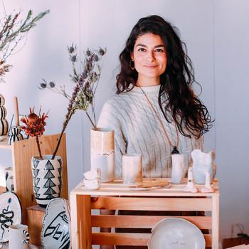 woman selling at Renegade Craft Fair