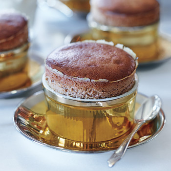 Milk-Chocolate Souffles
