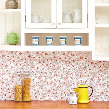 Chasing Paper backsplash