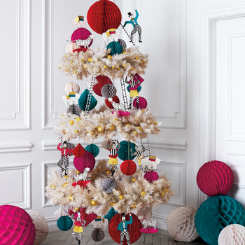 Three-Ring-Circus Christmas Tree
